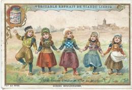 Images/Chromo/Scénes Hollandaises/danse D'enfants/Cie Liebig/Sanguinetti N°674/ Vers 1895   LBG18 - Liebig