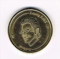 ***  KONING ROB I Van ROBLAND 1 ROBBIE 2006 - Elongated Coins