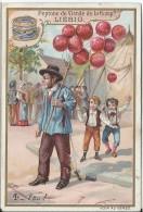 Images/ Chromo/Ballons Rouges / Feu / /Cie Liebig/Sanguinetti N°/Vers 1895   LBG21 - Liebig