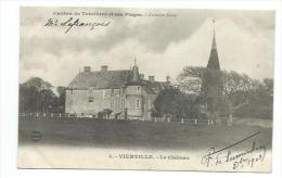 14/ CALVADOS... Canton De Trévières Et Ses Plages. VIERVILLE. Le Château... Propriétaire M. Lefrançois - France