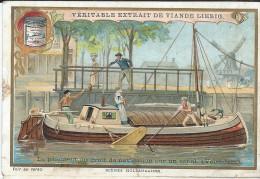 Images/ Chromo/le Paiement Du Droit De Navigation /Cie Liebig/Sanguinetti N°674/Vers 1895   LBG24 - Liebig