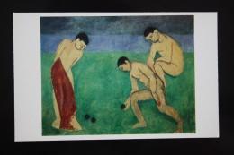 "Henri Matisse ""Jeu De Boules"" OLD Postcard 1980 - PETANQUE - Sin Clasificación"