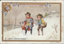 Images / Chromo/Quel Affreux Temps/Cie Liebig/Sanguinetti N°541/Vers 1895    LBG29 - Liebig