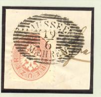 Heimat Tschechien Aussee Mähren 19/6 (Usov) Briefstück - 1850-1918 Imperium