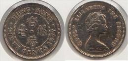 Hong Kong 5 Cents 1977 Km#29.3 - Used - Hong Kong
