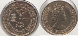 Hong Kong 10 Cents 1963 Km#28.1 - Used - Hong Kong