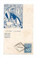 !!! ARGENTINE : CARTE MAXIMUM BATEAU, CACHET 1ER JOUR 1944 - Lettres & Documents