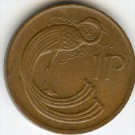 Irlande Ireland 1 Penny 1982 KM 20 - Irlande