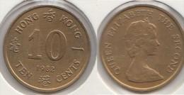 Hong Kong 10 Cents 1982 Km#49 - Used - Hong Kong