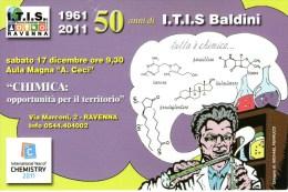 A 2376 - Annullo, Ravenna, ITIS - 6. 1946-.. Repubblica