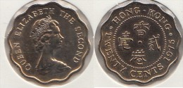 Hong Kong 20 Cents 1975 Km#36 - Used - Hong Kong