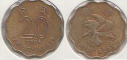 Hong Kong 20 Cents 1994 Km#67 - Used - Hong Kong