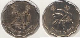 Hong Kong 20 Cents 1998 Km#67 - Used - Hong Kong