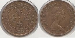 Hong Kong 50 Cents 1980 Km#41 - Used - Hong Kong