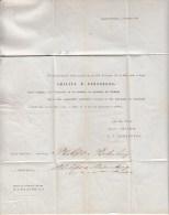 Nederland, 1853, Gefrankeerd Met Nr 1, Oprichting Philips, Handel In Tabak, UNIEK Tijdsdocument, VERY RARE (5572) - Tabac
