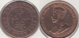 Hong Kong 1 Cent 1924 Km#16 - Used - Hong Kong