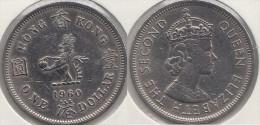 Hong Kong 1 Dollar 1960 Km#31.1 - Used - Hong Kong