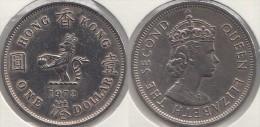 Hong Kong 1 Dollar 1972 Km#35 - Used - Hong Kong