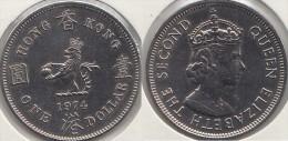 Hong Kong 1 Dollar 1974 Km#35 - Used - Hong Kong
