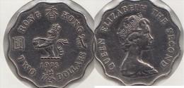 Hong Kong 2 Dollars 1975 Km#37 - Used - Hong Kong