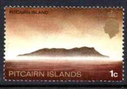 Pitcairn Island 1969 1c Definitive, Chalky Paper, MNH - Stamps