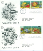 United States 1999 Acquarium Fish FDC - Lot USA999 - Ersttagsbelege (FDC)