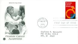 United States 1999 Prostate Cancer Awareness FDC - Lot USA9910 - Ersttagsbelege (FDC)