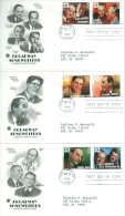 United States 1999 Brodway Songwriters FDC - Lot USA9918 - Ersttagsbelege (FDC)