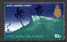 Pitcairn Island 1969 10c Definitive, Glazed Paper, MNH - Stamps