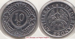 Antille Olandesi 10 Cents 1990 Km#34 - Used - Antille Olandesi