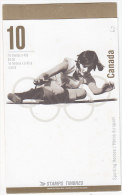 E013 - CANADA Yv N°1470 ** CARNET SPORT - Full Booklets