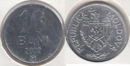 Moldavia 10 Bani 2002 Km#7 - Used - Moldavie