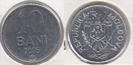 Moldavia 10 Bani 2005 Km#7 - Used - Moldavia