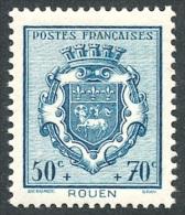 FRANCE 1941 - Yv. 528 *   Cote= 2,00 EUR - Armoiries : Rouen ..Réf.FRA27418 - France