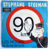Disque Vinyle 45T Stephane STEEMAN - LES PETONS - VOGUE V.B. 191 - Pochette TIBET 1971 - Disques & CD