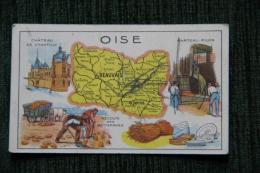 HUILE DE FOIE DE MORUE SALVER -  OISE - Trade Cards