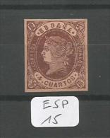 ESP  Edifil  58A Xx LUXE YT 54 # - 1850-68 Royaume: Isabelle II