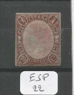 ESP  Edifil  71 Xx YT 68 - 1850-68 Royaume: Isabelle II