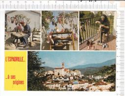 SAINT  LAURENT  DE   CERDANS  - 4  Vues   -   L ESPADRILLE....   ....à  Ses   Origines - Other Municipalities