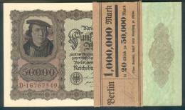 Deutschland, Germany - 50000 Mark, Reichsbanknote, Ro. 78 ,  ( Serie D  ) UNC, 1922 ! - 1918-1933: Weimarer Republik