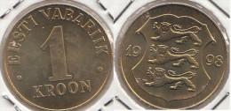 Estonia 1 Kroon 1998 Km#35 - Used - Estonie