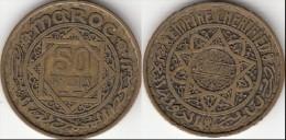 MAROCCO 50 Francs 1951 Mohammed V KM#y51 - Used - Marocco