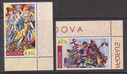 Europa Cept 2006 Moldova 2v  (corners) ** Mnh (22935A) - Europa-CEPT