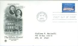 United States 2000 White House FDC - Lot USA002 - Ersttagsbelege (FDC)