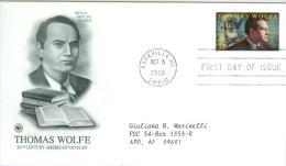 United States 2000 Thomas Wolfe FDC - Lot USA004 - Ersttagsbelege (FDC)