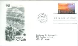 United States 2000 Grand Canyon FDC - Lot USA0013 - Ersttagsbelege (FDC)