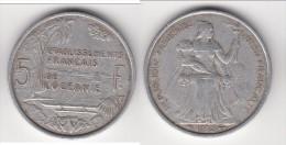 **** OCEANIE - POLYNESIE FRANCAISE - 5 FRANCS 1952 **** EN ACHAT IMMEDIAT !!! - Polynésie Française