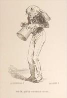 """Grandville. """"Scènes De La Vie Privée Et Publique Des Animaux"""". 1842. - Prints & Engravings"""