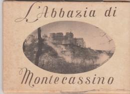 L'ABBAZIA DI MONTECASSINO-10 CARTOLINE NEL SUO CONTENITORE ORIGINALE-CATALOGO 2010-VALORE.800 EURO - Guerre 1939-45