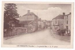 LES ESSARTS   - La Grande Rue.. Pas Courante. - Les Essarts